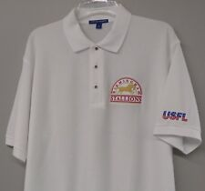 USFL Football Birmingham Stallions Embroidered Mens Polo S-6XL, LT-4XLT New