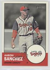 2012 Topps Heritage Minor League Edition #209 Aaron Sanchez Lansing Lugnuts Card