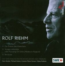 Works By Rolf Riehm, New Music