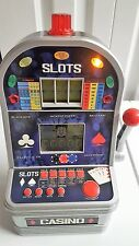 Excalibur 7 in 1 Ultimate Casino Talking Tabletop Slot Machine Lights & Sounds