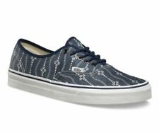 VANS Authentic (Indigo) Mood Indigo/Blanc Blue Men's Skate Shoes NEW
