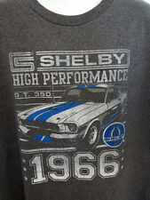 1966 Mustang Shelby GT350 4XL T-shirt FORD Mens NEW! Heather COMFY