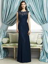 Dessy Bridesmaid Dress DESSY SIZE 10&16 Midnight Marquis Lace NOW £150 WAS £299