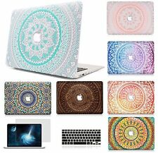 "Hard Case Shell Keyboard Cover Screen Film For Macbook Pro 13/15"" Air 11/13"" LS"