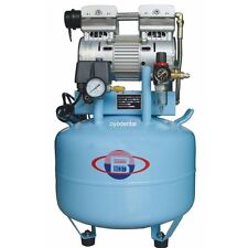 1HP 40L Medical Noiseless Oilless Oil Free Air Compressor for 2PC Dental Chair