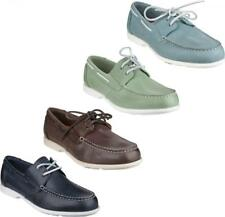 Rockport SUMMER SEA 2 EYE Mens Comfy Leather Holiday Lace Up Deck Boat Shoes