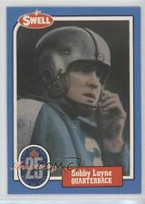 1988 Swell Football Greats Hall of Fame #68 Bobby Layne Detroit Lions Card