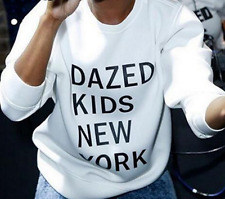 Printed Letters T-shirt long-sleeved Hot Sweatshirts Dazed Kids New York Women