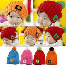 1pcs Children New Baby Infant Winter Accessories Hat Warm Boys Girls Cap Toddler