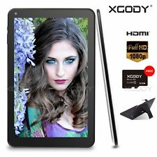 XGODY 10 Inch Android 5.1 Quad Core Dual Camera AllwinnerA64 HDMI Tablet PC 10.1