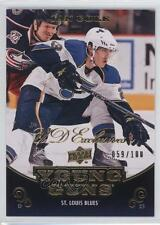 2010-11 Upper Deck UD Exclusives 491 Ian Cole St. Louis Blues Rookie Hockey Card