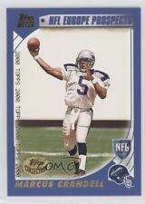 2000 Topps Collection #352 Marcus Crandell Scottish Claymores (NFL Europe) Card