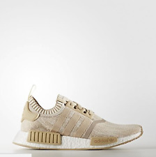 Adidas NMD R1 PK Linen Khaki Tan Nomad Runner Primeknit BY1912 SIZE 7.5-8.5