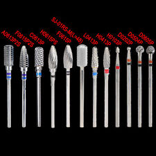 Pedicure Tools Kit Carbide Drill Bits Rotary Burr Files For Nail Art Manicure