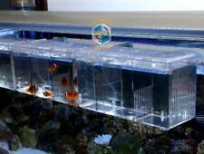 Fish Box Aquarium Breeding Tank Hang Breeder Hatchery Marina Fry Isolation New