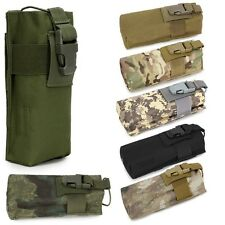 Muti-function Molle Radio Walkie Talkie Pouch Outdoor Water Bottle Cage Bag Case