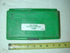 """Greenlee 735/ 735BB Knockout Punch Tools 1/2"""", 3/4"""", 1"""", 1-1/4"""" Hole Stud Draw"""