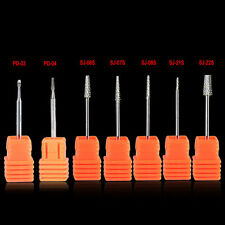 Carbide Drill Bits Nail Bit Cutter For Electric Nail Drill Grider Manicure Files