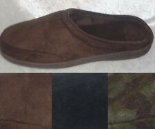 Stafford Mens Slippers Memory Foam Velour Cover Indor Outdoor size L NEW