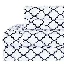RT Printed Meridian Percale Sheets