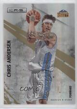 2010 Panini Rookies & Stars Gold Holofoil #69 Chris Andersen Denver Nuggets Card