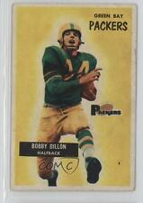 1955 Bowman #122 Bobby Dillon Green Bay Packers RC Rookie Football Card