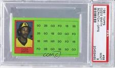 1981 Topps Baseball Scratch-Off Separated and Scratched #68 Ozzie Smith PSA 9