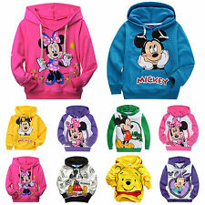 Toddler Kids Boy Mickey Minnie Sweatshirt Hoodies Pullover Tops T-shirt Children