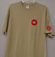Union 76 Minute Man Service 1950's Logo Embroidered Adult T-Shirt S-6XL New