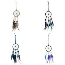 Retro India Tribe Dream Catcher with Feather Beads Car Wall Hanging Accessory