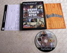 Grand Theft Auto San Andreas game PlayStation 2 game