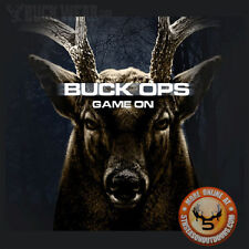 Buck Wear 2452 Buck Ops Game On Deer Hunting T-Shirt Bow Hunting