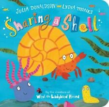 Sharing a Shell 9780330522502 by Julia Donaldson, Board Book, BRAND NEW FREE P&H