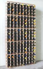 108-180 Bottle Wine Rack Cellar Storage Designer Collection Display Cabinet Case