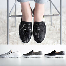 SNRD Mens Cool Punching Slip on Sneakers Casual Summer Skate Boat Shoes 147