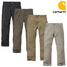 Carhartt Men's pants washed dungaree work pants workwear top new