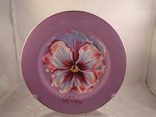 PANSIE SALAD PLATES YOU PICK PANSY FLOWERS  BOB MACKIE HOME 8.5 inches