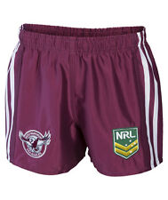 NRL Manly Sea Eagles 2017 Supporter Shorts Sizes S - 2XL