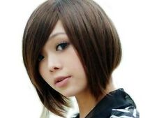 New Lady Fashion BoBo Wigs Short Straight Hair Cosplay Party Hair Wig-Full Wigs