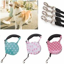 5M Walking Puppy Dog Leash One-handed Lock Automatic Retractable Pet Lead Rope