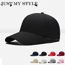 Men Women New Black Baseball Cap Snapback Hat Hip-Hop Adjustable Bboy Caps VI204