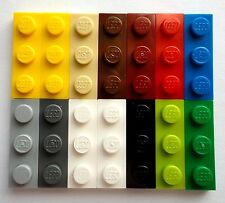 p1 NEW LEGO #3623 1X3 Base Plate  brick CHOOSE YOUR COLOR