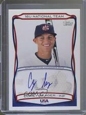 2010 Topps USA Baseball Team Autographs #A-TBD Corey Seager (National Team) Auto