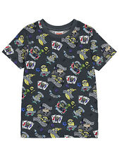 George Kids Boys Official Despicable Me 3 Minions Short Sleeve T Shirt Top