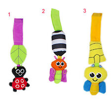 Baby Rattles hanging Bee Wind chimes Infant Crib Stroller Toy Plush Doll