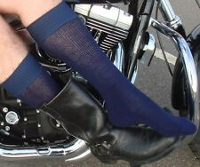 4 Pairs of Boot Socks - for Motorcycle & cowboy Boots > M/L or L/XL > HUGE SALE!