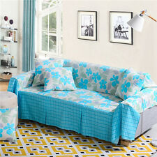 Nice Floral Polyester Sofa Cover Laul Couch Protector for 1 2 3 4 seater lshy