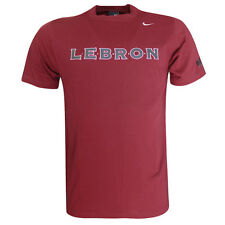 Nike Lebron James 23 Short Sleeve Mens T - Shirt Red 138249 677 Opp U24