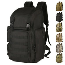 Outdoor Sports Backpack 40L Nylon MOLLE camouflage Tactics Assault Pack