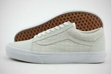 Vans Old Skool VN0004OJJT5 Off-White Suede Checkers Casual Shoes (D, M) Men